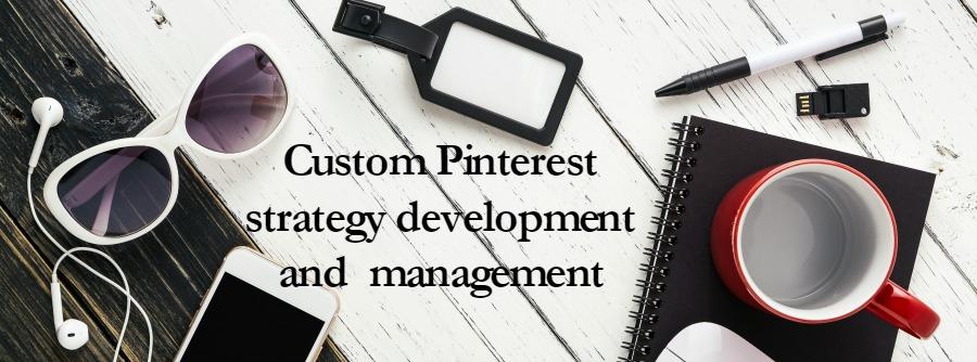 custom pinterest strategy development