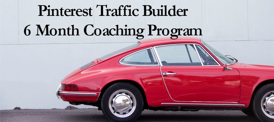 pinterest traffic builder 6 month coaching program