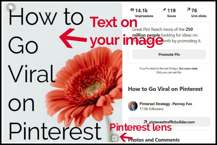 Pinterest Image elements